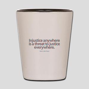Injustice Shot Glass