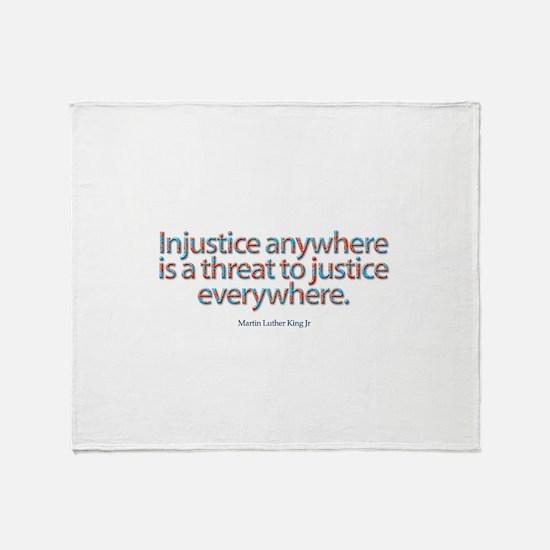Injustice Throw Blanket