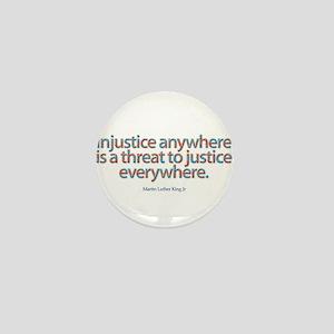 Injustice Mini Button