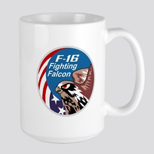 F-16 Large Mug