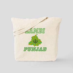 Lambi,Punjab Tote Bag