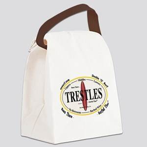 Trestles Surf Spots Canvas Lunch Bag