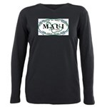 Maui t-shirt copy Plus Size Long Sleeve Tee