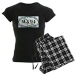 Maui t-shirt copy Women's Dark Pajamas