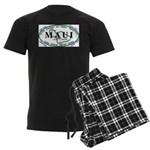 Maui t-shirt copy Men's Dark Pajamas
