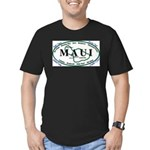 Maui t-shirt copy Men's Fitted T-Shirt (dark)