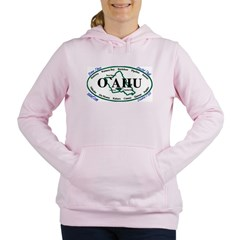 Oahu t-shirt copy Women's Hooded Sweatshirt