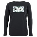 Kauai t-shirt copy Plus Size Long Sleeve Tee