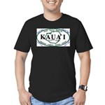 Kauai t-shirt copy Men's Fitted T-Shirt (dark)