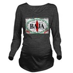 Baja Sur10x8 Long Sleeve Maternity T-Shirt