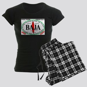Baja Sur10x8 Women's Dark Pajamas