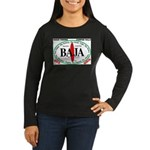 Baja Sur10x8 Women's Long Sleeve Dark T-Shirt