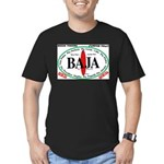 Baja Sur10x8 Men's Fitted T-Shirt (dark)