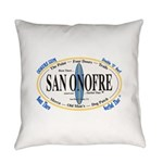 San Onofre Everyday Pillow