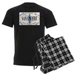 San Onofre Men's Dark Pajamas