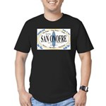San Onofre Men's Fitted T-Shirt (dark)