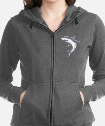 Unique Sharks Women's Zip Hoodie