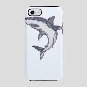 Shark Design Shark Print Art iPhone 8/7 Tough Case
