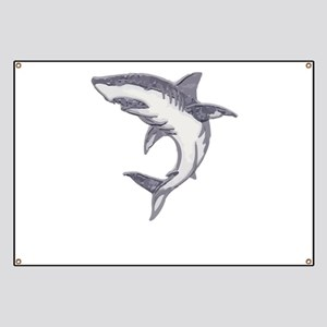 Shark Design Shark Print Art Birthday Party Banner