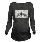 Doheny Surf Breaks Long Sleeve Maternity T-Shirt