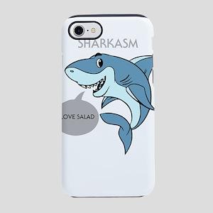 Sharkasm I Love Salad Design iPhone 8/7 Tough Case