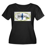 Doheny Surf Breaks Women's Plus Size Scoop Neck Da
