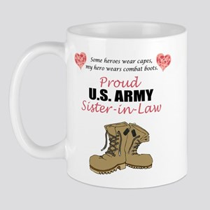 Proud US Army Sister-in-Law Mug