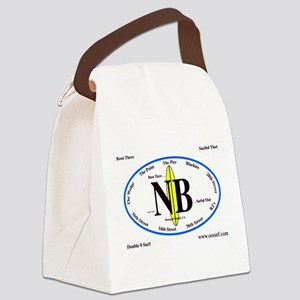 Newport Beach,Calif. Canvas Lunch Bag