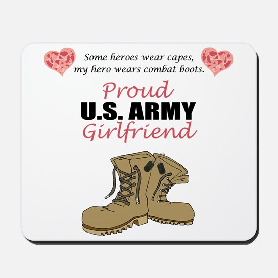 Proud US Army Girlfriend Mousepad