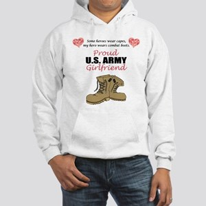 Proud US Army Girlfriend Hooded Sweatshirt