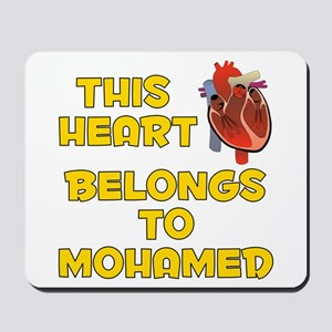 This Heart: Mohamed (A) Mousepad