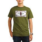 HuntingtonBeach Organic Men's T-Shirt (dark)