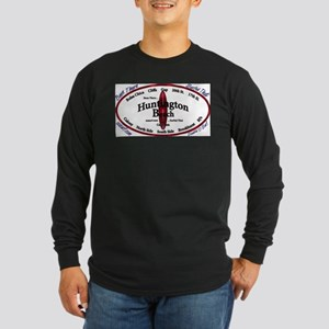 HuntingtonBeach Long Sleeve Dark T-Shirt