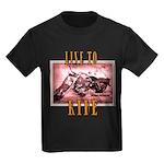 LIVE to RIDE Kids Dark T-Shirt