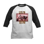 LIVE to RIDE Kids Baseball Jersey