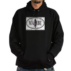 Malibu,Calif. Hoodie (dark)
