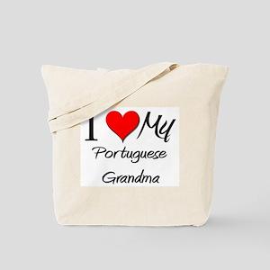 I Heart My Portuguese Grandma Tote Bag