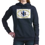 Santa Barbara,Calif. Women's Hooded Sweatshirt