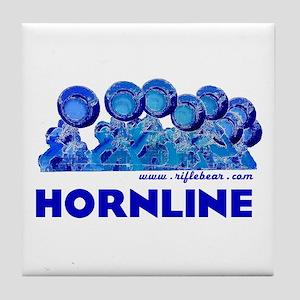 Hornline Blue Tile Coaster