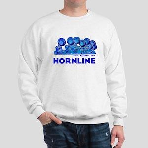 Hornline Blue Sweatshirt