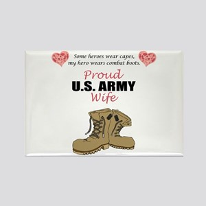 Proud US Army Wife Rectangle Magnet