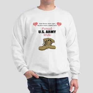 Proud US Army Wife Sweatshirt