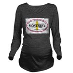 Monterey,Calif. Long Sleeve Maternity T-Shirt