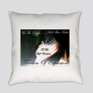 WeThePeopleflag1c Everyday Pillow