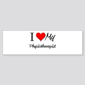 I Heart My Physiotherapist Bumper Sticker