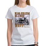WIDE WHITES on a BIKE Women's T-Shirt