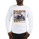 WIDE WHITES on a BIKE Long Sleeve T-Shirt