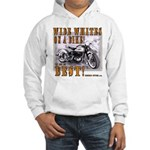 WIDE WHITES on a BIKE Hooded Sweatshirt
