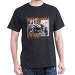 WIDE WHITES on a BIKE Dark T-Shirt