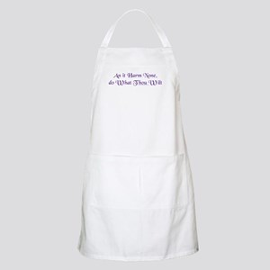 Wiccan Rede BBQ Apron